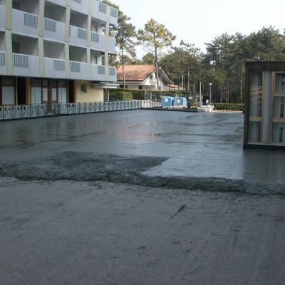 Fase 4 - nuova pavimentazione carrabile cementizia 2