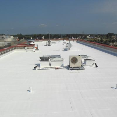 Fase 5 - realizzazione finitura ad elavti indici di riflettanza ed emissività - Cool Roof